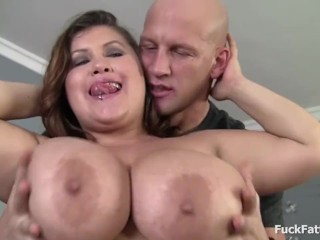 Bubbly BBW Gigantic Boobs Ass Gets Fucked