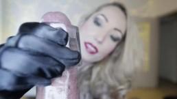 Candy May - SATIN GLOVES BBC HANDJOB