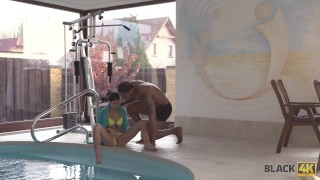 BLACK4K. Sex with Swimming Coach porno