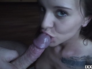 Blowjob and sperm in my litte mouth