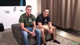 ActiveDuty Str8 Soldier Buddies Go RAW & DEEP!!!