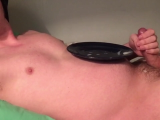 Cum on Plate, I couldn't Keep Cumming. Soft to Hard CEI