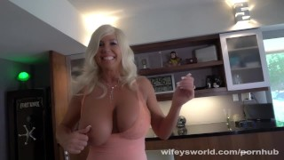 Busty MILF Sucks Cock For Porn Audition