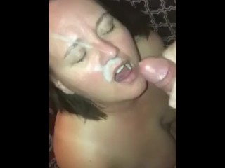 Me getting pounded by a visitor while hubby is at work.
