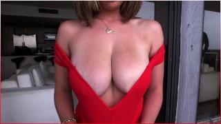 BANGBROS Brunetter Pornstar Brooke Wylde Has Amazing Natural Big Tits