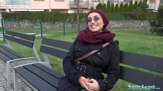 Preview 4 of Public Agent Afghan beauty pays to fuck a big cock