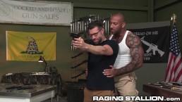 RagingStallion Hairy, Interracial & Straight RUGGED!!