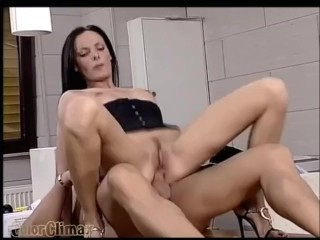 Double penetration at the office