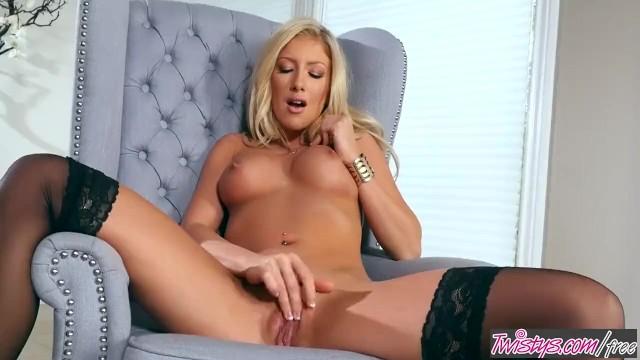Porn star blondi Twistys - kathrynn st-croixx starring at blondy cant sit down