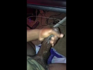 BBC King JeromeLee Wet dick cum shot