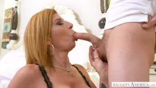 With sara her son's her pussy punishes milf jay friend big big