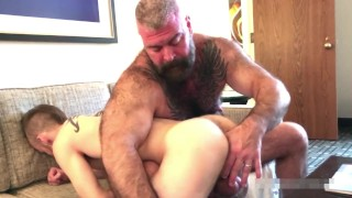 Big Muscle Bear Porn - Muscle Bear Gay Porn Videos | Pornhub.com