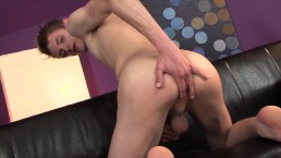 First time exposed - Twink with big dick