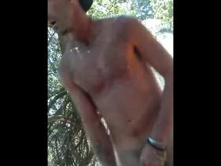 JAH Getting Naked at Park