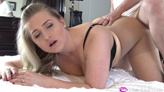 DISGRACED BEFORE WORK Her Pantyhose Torn, Young Wife Fucked & Facialized Deepthroat facefuck