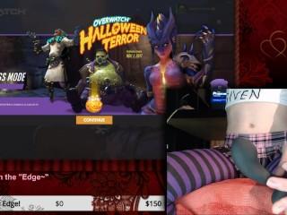 SweetCheeks - Femboy Healslut Plays Overwatch 12 (2017-10-21)