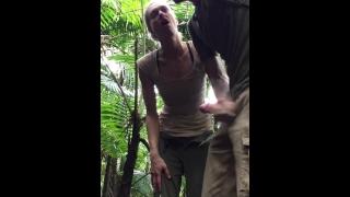 Risky Public Fuck In Tropical Rain Forest