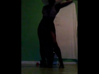 Black Goddess Dancing To Tanks When We:Her Second Time Hearing It