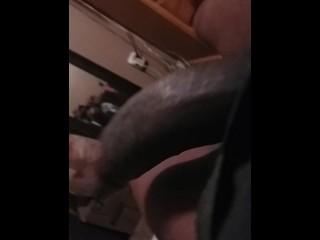 Super horny black dick