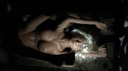 Realistic Sex Doll Mia's 28th Video! Torch light mood fuck + nice facial :)