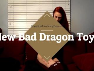 New Bad Dragon Toys w/ 1st creampie SAMPLE - MissKittyMoon.ManyVids.com