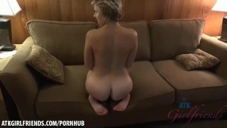Makenna Blue wants her feet covered in your cum