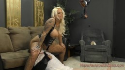 Lucky Turns Her Husband Into Her Cripple Slave - Lucky B - Ass Worship