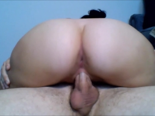 POV: Young Big Booty Amateur Gets Fucked All Over the House