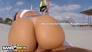 BANGBROS - European MILF Franceska Jaimes Public Anal Sex With Nacho View brunette