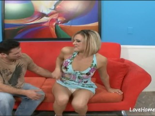 Fantastic hottie will please her horny man