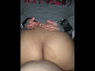Sexy Teen Fucked and Cuffed