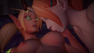 Lesbian Video Game Compilation February 2018