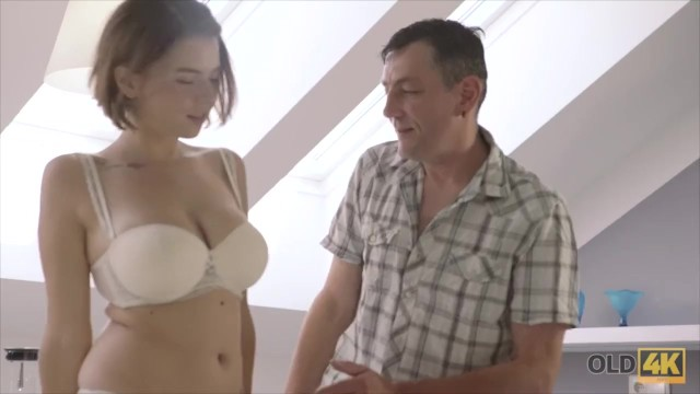 Old4K Old Wise Gentleman With A Young Beautiful Girl -7468