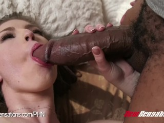 Beautiful Ebony With Great Tits Pounded By Monster Cock