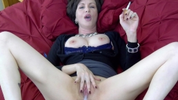 Lick it Up While I Smoke - cuck hotwife creampie cleanup cigarette fetish