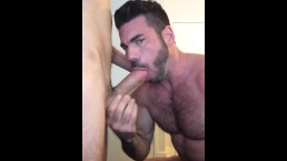Billy Santoro hosts a hot Grindr fuck
