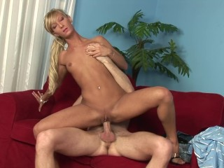 Tiny Teen Sabina Blue Bounces On Hard Cock