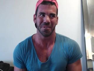 Billy Santoro take giant cock RAW