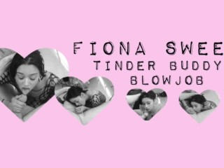 Fiona Sweet Tinder Stranger Blowjob