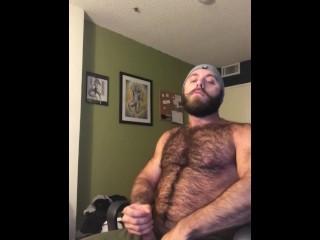 Lumberjack Jacks Off