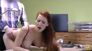 LOAN4K. Hypnotizing boobs for credit manager Gf kink