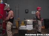 Jaxton Wheeler & Sean Duran HOT MUSCLE DADDIES