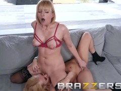Brazzers - Kate England and Aaliyah Love, lesbians know how to make a sale
