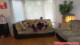 Casting trans amateur plays with her asshole Pornhub.com big