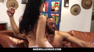 SheWillCheat - Petite Yoga Girlfriend Cheats With Black Cock Hardcore style