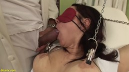 busty nurse bizarre fetish banged