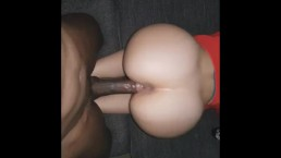 Stepsister cant take BBC and only rides the tip