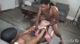 TWO HOT MASCULINE ABUSES WHITE BOTTOM, CUMS AND IN HIS MOUTH, THEN FIST HIM