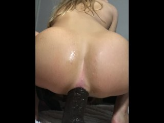 Girls4cock.com *** Wrecking and Altering my AssHole with Huge BBC