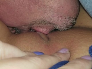 Pussy clit being shaved pussy